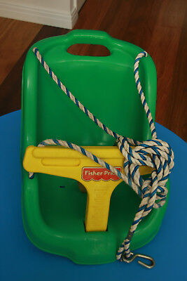 Fisher Price Swing - Ready To Hang Good Condition - outdoor use