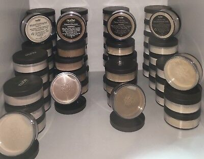 NUDE BY NATURE MINERAL COVERS Light & Dark, BRONZER & FINISHING VEIL - LOT
