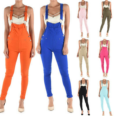 American Bazi Women's Solid Color Romper Jumpsuits Skinny Overalls-rjho871-ee14c