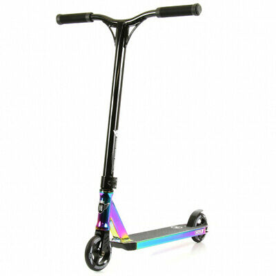 Longway Metro Complete Scooter - Neo Chrome and Satin Black