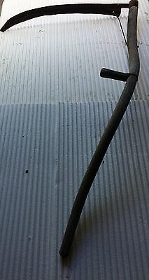 Antique Scythe Wooden with Metal Blade