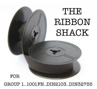 Typewriter Spool Group 1..1001Fn...din2103..din32755 Black Or Red/black Ribbon