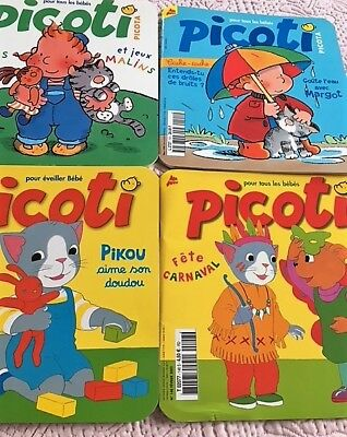 4 French Francais Children's Babies Magazines 2 years old 1999 2002  BB
