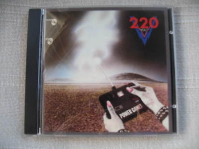 220 VOLT - Power games+3bt 1pr CD HEAVY LOAD Treat EUROPE Mindless Sinner