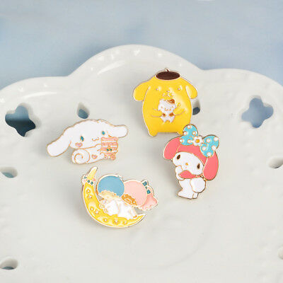 Sanrio Pins - Cinnamoroll, My Melody, Little Twin Stars and Pompompurin!