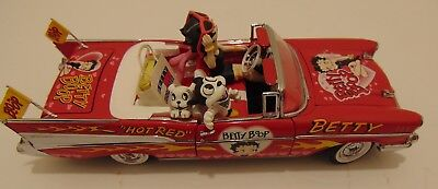 Betty Boop Classic 57 Chevy Hot Rod Red By The Danbury Mint!!!