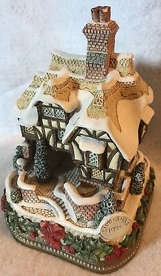David Winter Cottages Primier Limited Edition - MISS BELLE'S COTTAGE