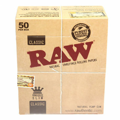 Rolling Papers Smoking Kingsize Paper RAW Classic KING SIZE SLIM Tobacco Rizla