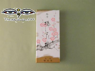 Plum Blossoms Japanese Incense from Shoyeido -Small Box 150 Sticks