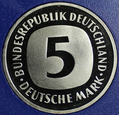 Germany - Federal Republic 5 Mark, 1980-J Proof~110,000 Minted~Free Shipping