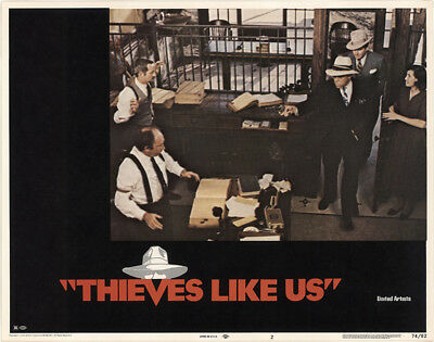 Thieves like Us 1974 11x14 Orig Lobby Card FFF-39794 Very Fine Shelley Duvall