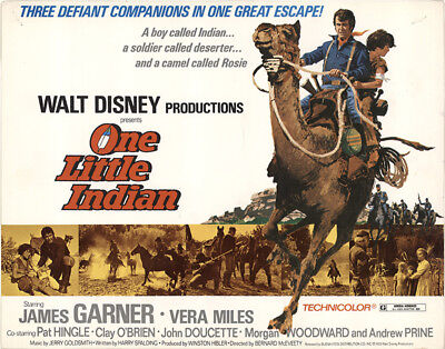 One Little Indian 1973 11x14 Orig Lobby Card FFF-41528 Fine, Very Good