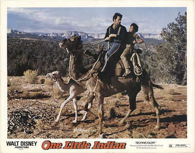 One Little Indian 1973 11x14 Orig Lobby Card FFF-41532 Fine James Garner