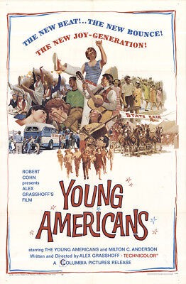Young Americans 1967 27x41 Orig Movie Poster FFF-42063 Fine, Very Fine