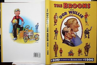 The Broons And Oor Wullie. 60 Years Of The Sunday Post.1996