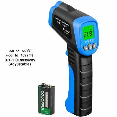 HOLDPEAK 981D Non-Contact Digital Laser Infrared Thermometer Temperature Gun -58