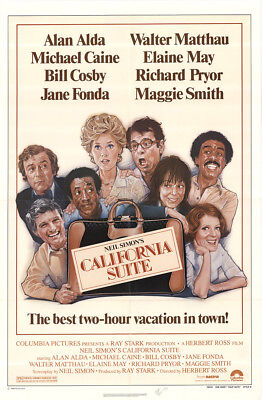 California Suite 1978 27x41 Orig Movie Poster FFF-42579 Maggie Smith