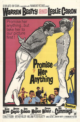 Promise Her Anything 1965 27x41 Orig Movie Poster FFF-42694 Fine, Very Good