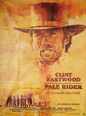Pale Rider 1985 46x62 Orig Movie Poster FFF-50312 Fine, Very Good Clint Eastwood