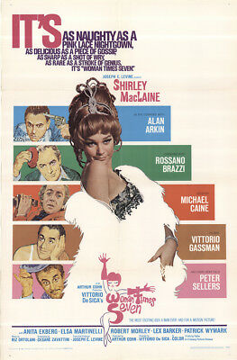 Woman Times Seven 1967 27x41 Orig Movie Poster FFF-50595 Shirley MacLaine