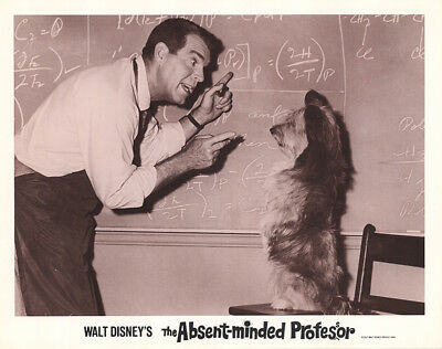 The Absent-Minded Professor 1967 11x14 Orig Lobby Card FFF-44685 Fine, Very Fine
