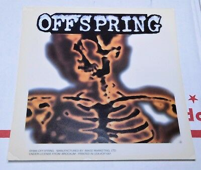 Insanely Rare 1994 OFFSPRING ( No Smash) Decal Sticker Only 1 On Internet