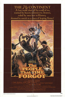 The People That Time Forgot 1977 27x41 Orig Movie Poster FFF-44853 Patrick Wayne