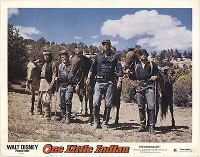 One Little Indian 1973 11x14 Orig Lobby Card FFF-40845 Fine, Very Good