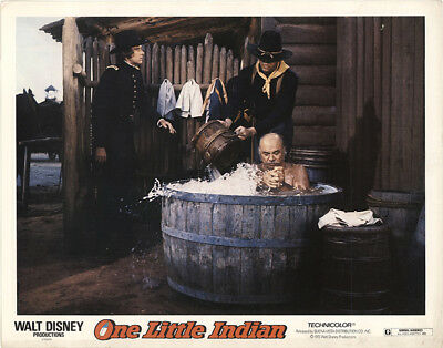 One Little Indian 1973 11x14 Orig Lobby Card FFF-40849 James Garner