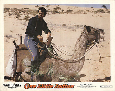 One Little Indian 1973 11x14 Orig Lobby Card FFF-40848 James Garner