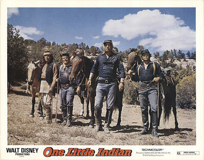 One Little Indian 1973 11x14 Orig Lobby Card FFF-40860 Fine James Garner