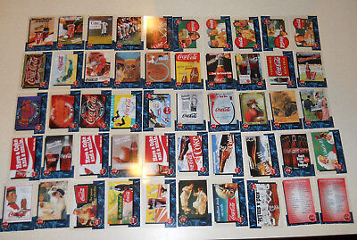 50 Coca Cola Sprint Phone Cards 1-50 Cels Complete SET, Premier Edition 1995