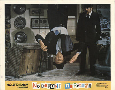 No Deposit, No Return 1976 11x14 Orig Lobby Card FFF-41052 David Niven Disney