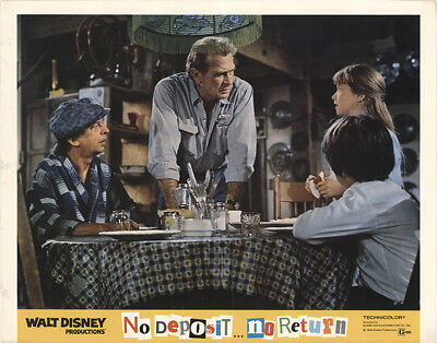 No Deposit, No Return 1976 11x14 Orig Lobby Card FFF-41054 David Niven Disney