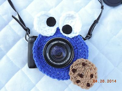 Crochet Camera Lens Buddies Photo Props Shutter Buddy Handmade Photography