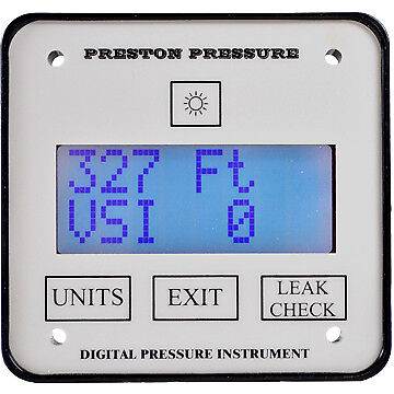 Digital Altimeter for Air Data and Pitot Static Testers