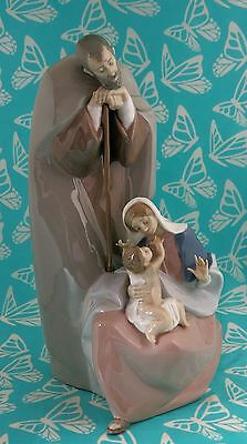 Lladro # 1499 ~ BLESSED FAMILY ~ Nativity    ***MINT***  BUY 1 GET 1 50% OFF