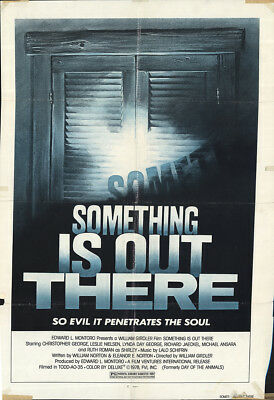 Day of the Animals (aka Something is Out There) 1977 27x41 Orig Movie Poster