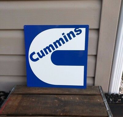 Cummins Diesel Sign Turbo Truck Mechanic Garage Repair Shop 50053 12x12