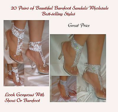 Women's Fashion 20 Pairs of Beautiful, Best-selling Barefoot Sandals Wholesale