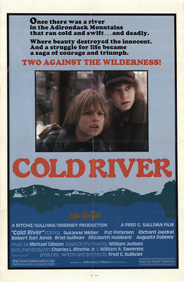 Cold River 1982 27x41 Orig Movie Poster FFF-51601 Richard Jaeckel U.S. One Sheet