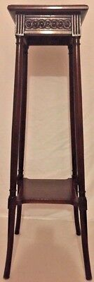 Antique French Tall Plant Stand Louis Xvi, Circa 1900.