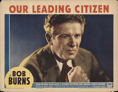 Our Leading Citizen 1939 11x14 Orig Lobby Card FFF-55152 Fine, Very Good