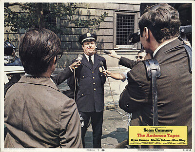 The Anderson Tapes 1971 11x14 Orig Lobby Card FFF-54937 Fine, Very Good