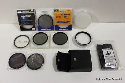 Lot of Camera Lenses and Filters (10)