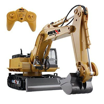 RC Excavator Tractor Remote Control   Digger Toys 11 Channel 2.4G Construction..