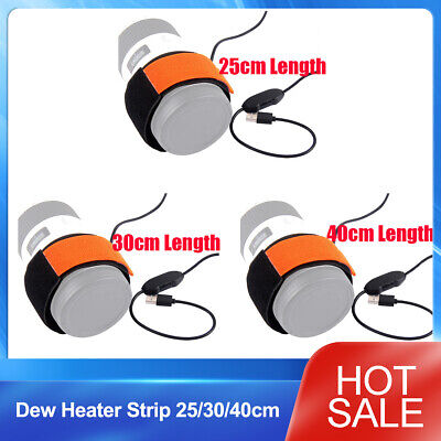 Dew Heater Strip 25/30/40cm Keep Telescopes Camera  DSLR Lens from Fog Freezing