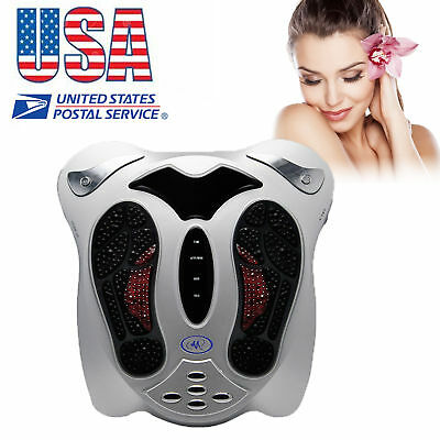 Circulation Medical Blood Booster Foot Massager Infrared Remote Control US SHIP