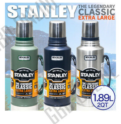 Stanley Classic 1.9L Stainless Steel Thermos Flask Vacuum Insulated Bottle