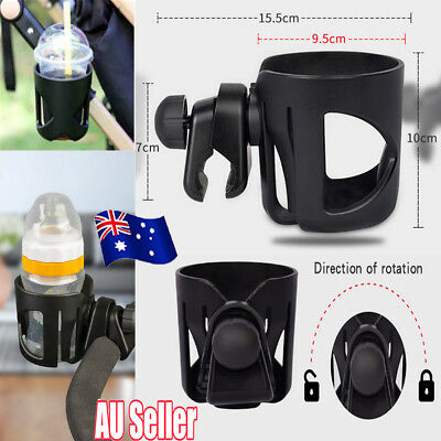 Baby Stroller Pram Cup Holder Universal Bottle Drink Water Coffee Bike Bag SN